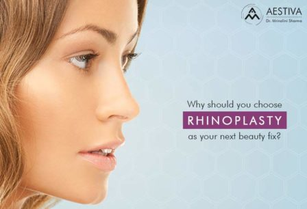 Chose Rhinoplasty as Beauty Fix